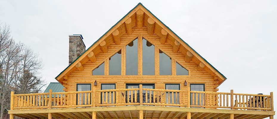Log home plans maine house design plans for Maine house plans