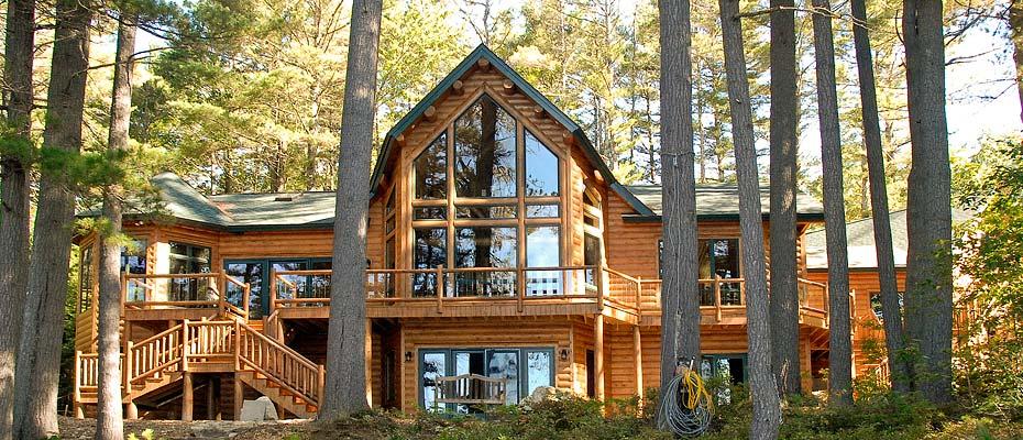 Cedar Log Homes | Maine Cedar Log Homes