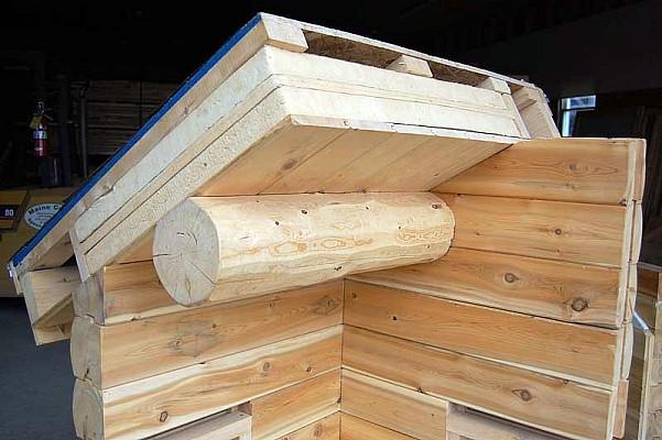 Wall amp Roof Insulation Options Maine Cedar Log Homes